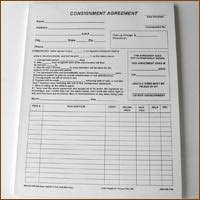consignment forms