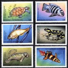 animal postage stamp