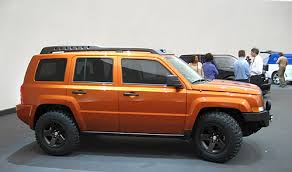 jeep patriot off road
