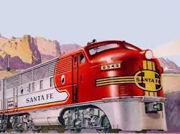 model trains engines