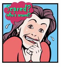 someone afraid