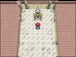 pokemon platinum arceus