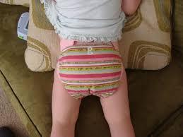 little girl diapers