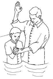 clipart baptism