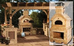 outdoor wood oven