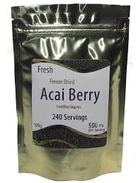 dried acai berry