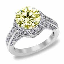 coloured diamond engagement rings