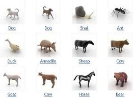 3d models animals