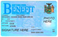 food stamp card