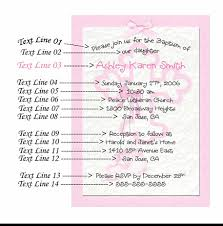examples of baby shower invitations