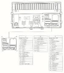 ford car stereo wiring diagrams