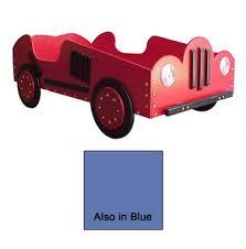 wood car bed