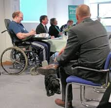disabled people work