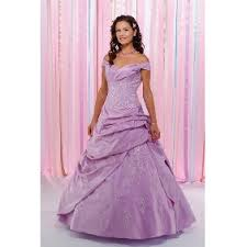 lilac wedding gowns