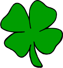 four leaf clover cut out