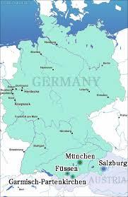 garmisch germany map