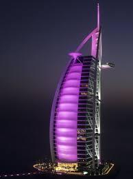 burj al arab night