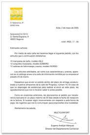 cartas peticion