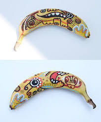 drawings of bananas