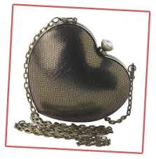heart shaped handbags