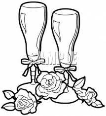 clip art champagne glasses