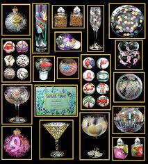 handpainted glass