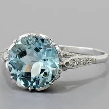 aquamarine engagement