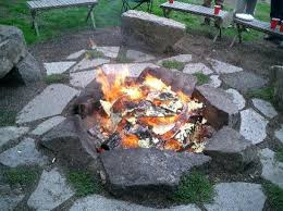 outdoor fire pits designs