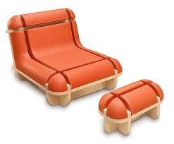 chairs with footrest