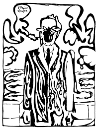 man in a maze