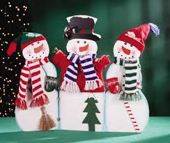 painted snowmen
