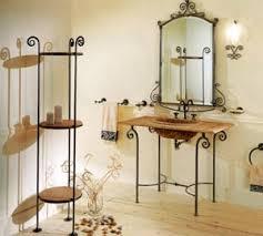 arredo bagno ferro battuto