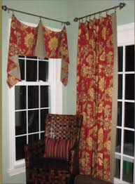 box pleat drapes
