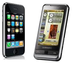 samsung i900 vs iphone