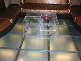 glass dance floor