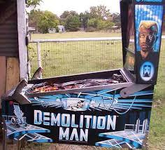 demolition man pinball