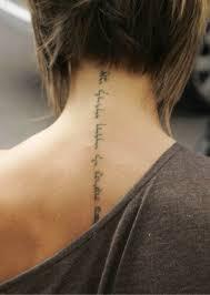 tatuaz na karku