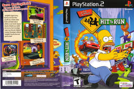 ps2 simpson hit and run