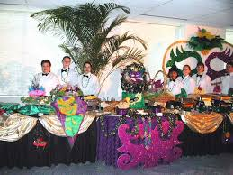 mardi gras themed party