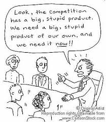 competition cartoon