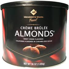 creme brulee almonds