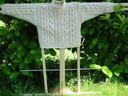aran knitted
