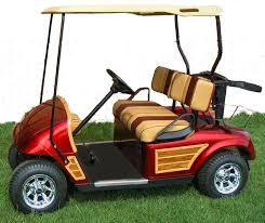 customized golf cars