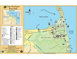 cape henlopen map