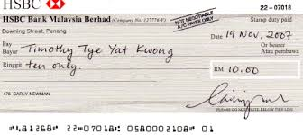 example of a cheque