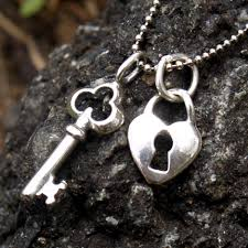 heart and key jewelry