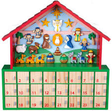 nativity advent calendars