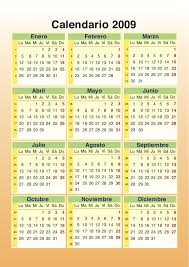 calendarios del 2009