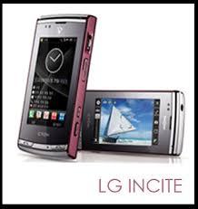 lg incite phones