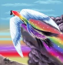 rainbows art